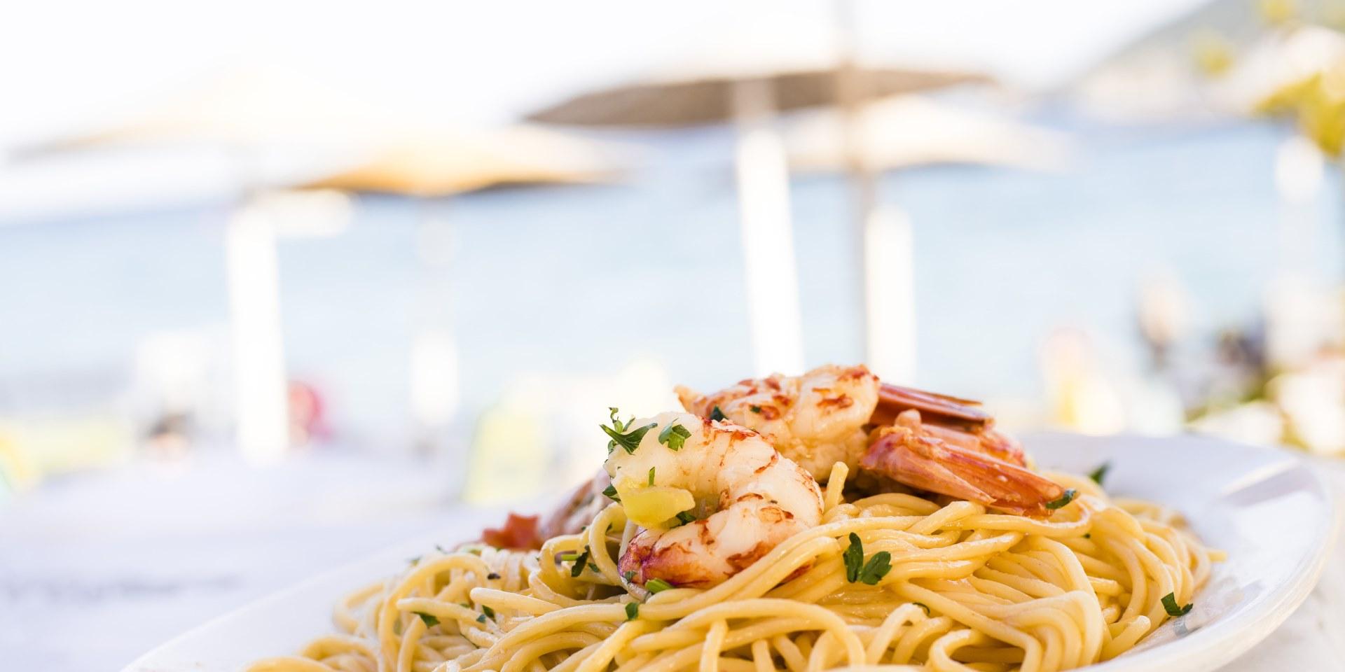 Adlon Restaurant am Meer